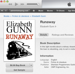 Runaway -- on sale in iTunes!