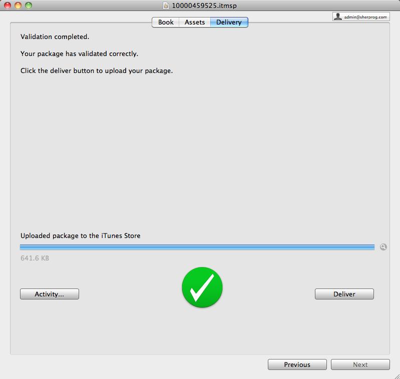iTunesProducer_success