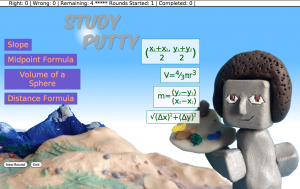 Math in HTML--Test shot at Study Putty