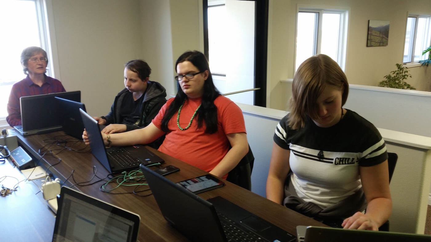 Coders of the West State of Wyoming Internship