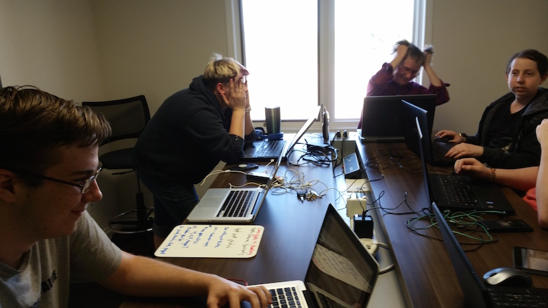 Coders of the West Interns fight bugs